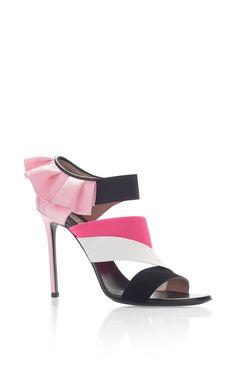 Ruffle Heels by EMILIO PUCCI for Preorder on Moda Operandi