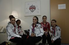 Women's Gymnastics Visits NBC - Gymnastics Slideshows | NBC Olympics