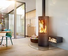 Chimney stove elements-rund - skantherm - We are on fire