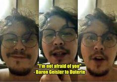 "#Duterte, #News Baron To Duterte: ""I'm Not Afraid Of You"" - http://wp.me/p5GV1p-2Lk"
