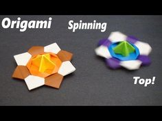 How To Make an Origami Spinning Top (Shuriken)!  Designed By: Traditional  This particular model may require glue if you plan on throwing it as the modular pieces do not stay together for long. It is however an excellent throwing star and works really well. Just be sure to play safe and never aim it at anyone!  Tips: Take care of your folds at the beginning, and the rest should be fairly easy if you follow the tutorial exactly. Making careful folds, and making sure everything is properly…