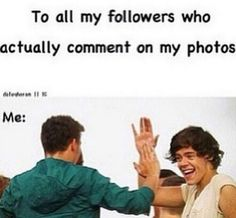 COMMENT ALWAYS and i shall love you <3