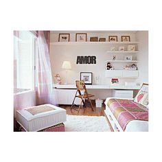 Bedroom Design Ideas For Teenage Girls Teen Bedroom Decorating Ideas ❤ liked on Polyvore