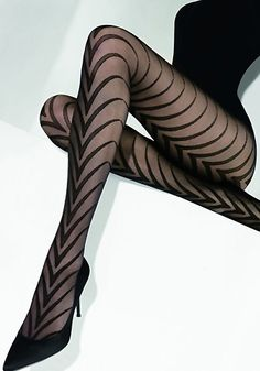 Those tights are really interesting!