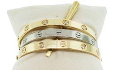cartier love bracelet white gold