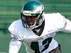 Safety O. Atogwe was one of the player cut by the Eagles on Thursday. Football Players, Football Helmets, Philadelphia Eagles Game, Philadelphia Inquirer, Nfl News, Thursday, Safety, Security Guard, Soccer Players