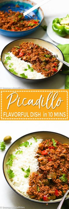 Picadillo Recipe - Immaculate Bites Puerto Rican Picadillo Recipe -- fragrant, flavorful ground beef stew with potatoes, tomatoes, olives and raisins. Easy and no fuss cooking. Comida Boricua, Boricua Recipes, Top Recipes, Mexican Food Recipes, Dinner Recipes, Cooking Recipes, Healthy Recipes, Ethnic Recipes, Vegetarian Recipes