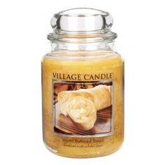 Village Candle Large Jar - Warm Buttered Bread