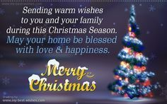 Wish You A Merry Christmas To All Of You... ♥    You can now Download Christmas e-card and greetings to share with your friends and family, please refer below link,    http://www.my-best-wishes.com/free-e-cards/christmas-greetings.php