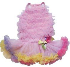 Pawpatu+Rainbow+Petti+Dress+for+Pet