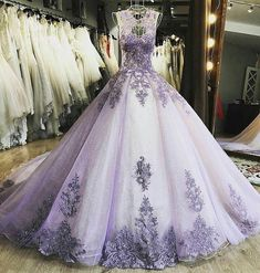 Elegant Tulle Prom Dress, Formal Ball Gown Prom Dresses, Appliques Evening Dress on Luulla Tulle Prom Dress, Prom Dresses, Formal Dresses, Beaded Dresses, Dress Wedding, Purple Wedding Dresses, Lace Wedding, Wedding Navy, Office Dresses