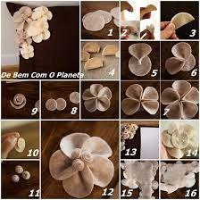 diy almofadas flor de feltro - Pesquisa Google