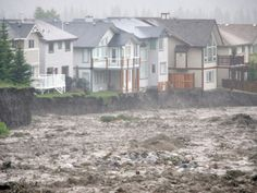 Torrential rains and widespread flooding throughout southern Alberta on Thursday washed out roads and bridges, sent residents scurrying for safety, and delivered up surreal scenes of cars, couches and refrigerators just floating away.
