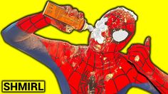 SPIDERMAN vs SPIDERMAN PIE FACE VOODOO Gets Hypnotized - Funny Superhero...