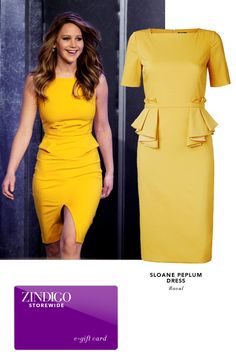 This new Sloane Peplum Dress from Raoul has this season's peplum rage and golden color. Get yours for 25% off using GOLDENPEP through 08/13/2015 - 08/23/2015.