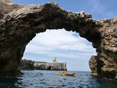 Tremiti - Island of Capraia Architiello;  The Tremiti Islands are a beautiful archipelago of the Adriatic Sea, and are part of the Gargano National Park, a marine nature reserve.  The Adriatic Sea is on the east side of Italy's 'boot.'