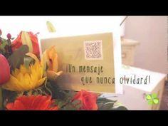 Códigos QR: ejemplos de utilidades recientes de interés para el comercio. #QRcode #flowers #flores #codigoQR