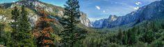 Sweeping Views of Yosemite National Park [OC] [6166x1946]   landscape Nature Photos