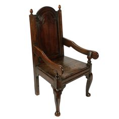 Late century antique oak arm chair made from century period timber. This antique oak arm chair is available to buy now online. Antique Chairs, Antique Furniture, 18th Century, Period, Armchair, Objects, Victorian, Legs, Antiques