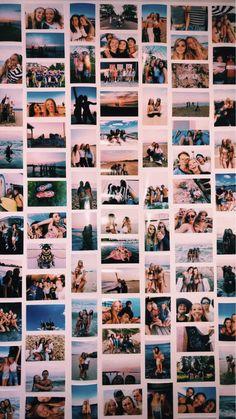 p i n t e r e s t carolinenietoo - room goals - Dorm Room Cute Room Ideas, Cute Room Decor, Tumblr Photo Wall, Photo Polaroid, Polaroid Wall, Polaroids On Wall, Instax Wall, Photowall Ideas, Photo Deco