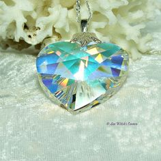 Crystal Prism Necklace  Swarovski Crystal by SeaWitchsCavern
