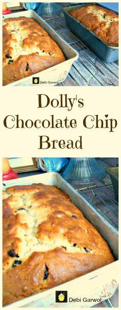 Dolly's Chocolate Chip Cake. Very easy recipe and a family favorite! Dolly's Chocolate Chip Cake. Very easy recipe and a family favorite! Easy Cake Recipes, Bread Recipes, Sweet Recipes, Baking Recipes, Dessert Recipes, Bread Cake, Dessert Bread, Chocolate Chip Bread, Chocolate Morsels