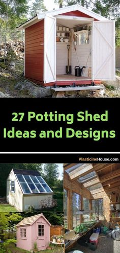 outdoor shed lighting ideas on 540 Potting Sheds Ideas In 2021 Potting Sheds Garden Shed Backyard