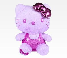 Hello Kitty Purple Mascot Plush: Colors