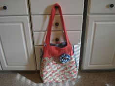 Nin's Personal Bag.  New Pattern  Great  for taking projects to classes or retreats.