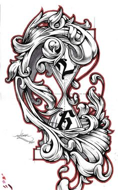 Bo's tattoo by un2one, via Flickr