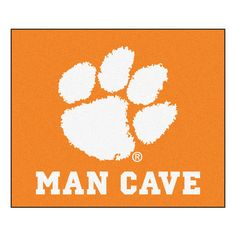 Clemson Tigers 5' X 6' Man Cave Tailgater Area Rug Floor Mat