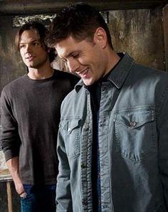 Jared Padalecki & Jensen Ackles /Sam and Dean #Supernatural