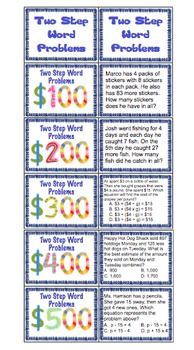 3rd Grade End of the Year Review - This review is a great way to have FUN going beyond boring worksheets and engaging students in a 3rd Grade Common Core Math Review. This set has 5 game show style reviews and all domains and standards are covered! WOW! $