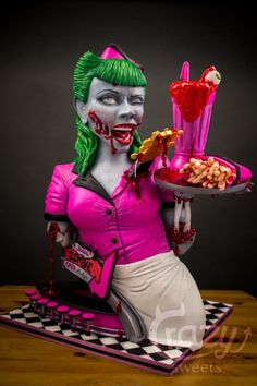 Zombies Diner 3D Cake (Cake and bake Dortmund/Germany) by Crazy Sweets