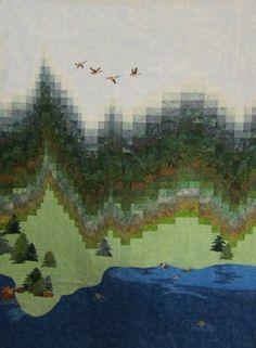 landscape bargello quilt                                                                                                                                                                                 More