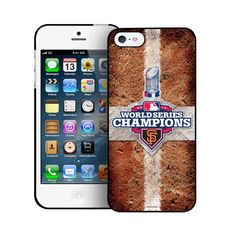 World Series Champs Base Path Iphone 5 San Francisco Giants
