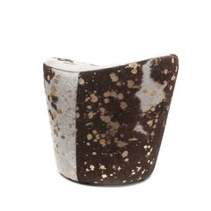 Lucia Cowhide Stool - $448