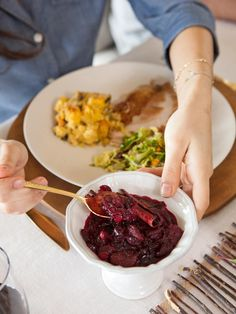 36 Thanksgiving Recipes for Main Dishes & Sides: Golden Raisin and Cranberry Chutney >> http://www.hgtv.com/design/make-and-celebrate/entertaining/recipes-for-your-thanksgiving-feast-pictures?soc=pinterest