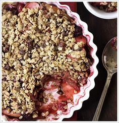 Blackberry & Apple Crumble (omit flour, oil, and dates)