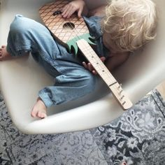 bee playing her ukelele! Little People, Little Boys, Modern Kids, Boho Baby, First Baby, Kid Styles, Mini Me, Baby Love, Kids Playing