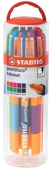stabilo roller ball pens.  y cuando los vendían acá en Chile no me los quise comprar :'(