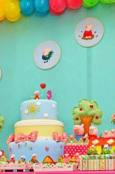 Festa linda que fizemos para os 3 anos da Luíza , filha da Tatiana Lima.   Adoro festa em casa e essa foi feita com muito carinho!   As ...