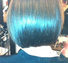 Precision Precision Precision .  Classic Graduated Bob Haircut by Moulay Yacoubi @pmichelsalon
