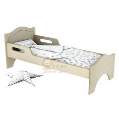 新款幼儿园单人床木板床宝宝儿童床早教亲子园儿童午睡专用床-淘宝网