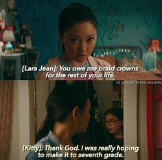 Really Good Movies, Love Movie, I Movie, Best Movie Dialogues, Netflix Quotes, Teen Tv, Lara Jean, Chick Flicks, I Still Love You