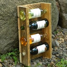 Wine Rack from JNMRustic Designs on OpenSky
