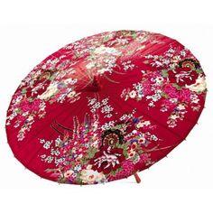 """Parapluie Ombrelle """"Fleurs chinoises"""""""