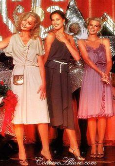Disco Fashion, 1978: classic disco dresses