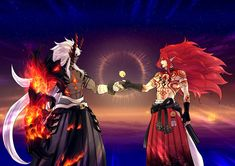 Character Art, Character Design, Ibaraki, Bleach Art, Demon King, Touken Ranbu, Anime Comics, Deities, Anime Guys