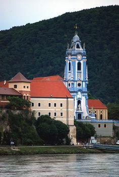 Blue Church, Durnstein, Austria